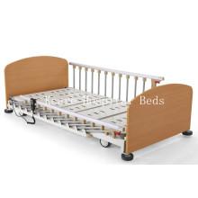 Drei-Funktions-Elektrisches Hauspflege-Bett mit niedriger Höhe für das Alte