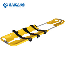 SKB2B03 Foldable Aluminum Alloy First Aid Scoop Stretchers
