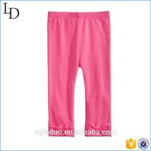 прекрасный ребенок брюки розовый хлопок дети брюки платье для девочки