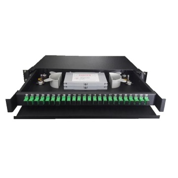 24 Port Rak Fiber Patch Panel ODF