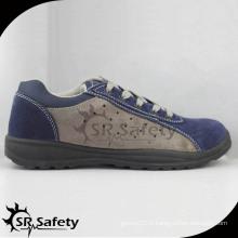 Chaussures de sécurité en cuir suède sport léger