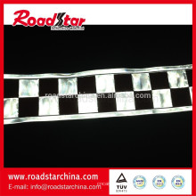 cinta corrector reflectante blanco y negro para la ropa
