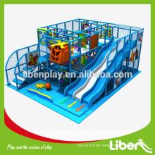 Ozean Thema Kinder Indoor-Soft-Spielplatz Spielplatz Ausrüstung, spielen System-Struktur für Kinder Spiele