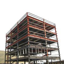 Modern Design Steel Structure Hotel Prefabricated Apartment Building