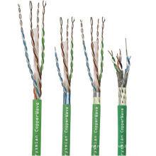Lansan 4 пары сетевой кабель cat6 305 метров 23awg BC хорошее качество и заводская цена