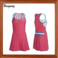 Tennist-camisa cabida do vestido do esporte da senhora (DSS-306)