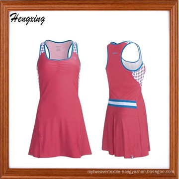 Fitted Lady Sport Dress Tennist-Shirt (DSS-306)