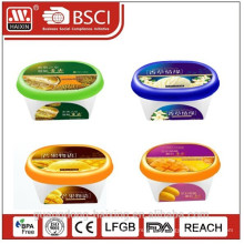 in mold labelling box for ice-cream as plastic promotional items