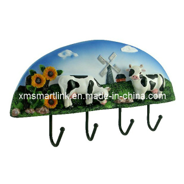 View Wall Hook, Resin Wall Hanging Clothes Hook, Coat Hook