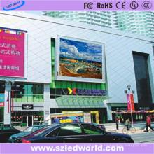 Usine fixe polychrome extérieure de panneau d'affichage à LED D'intense luminosité de P10 DIP pour la publicité