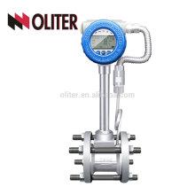 LUGB fabricant 4-20mA intelligent huile liquide gaz vapeur vortex débitmètre avec température et compensation de pression