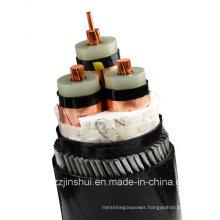 0.6/1kv Cu Conductor PVC Isnulation Aluminum Tape PVC Power Cable