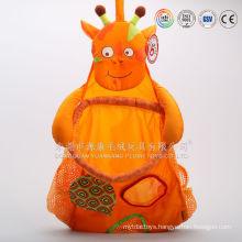 Plush toy baby kangaroo carrier