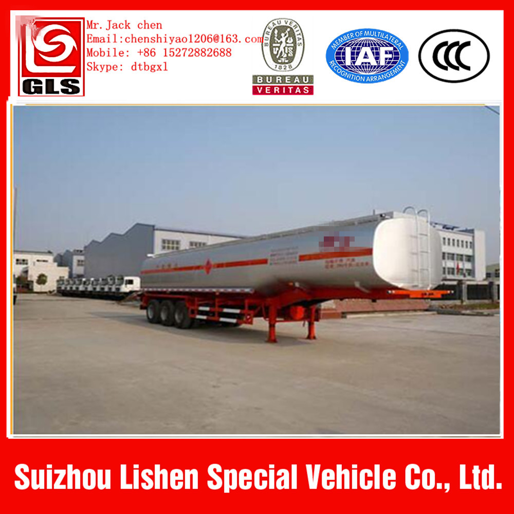 60000L crude oil tanker semi trailer