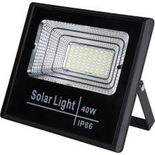 Ajustement des projecteurs solaires d'urgence à LED