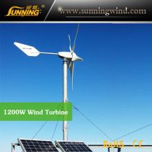 Sistema de bombeo híbrido eólico solar (Sistema MAX 1200W)