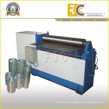Máquina de doblar hidráulica de la placa del rodillo dos para el tambor de aceite