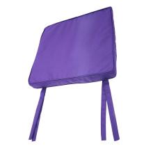 Housse de chaise d'extérieur de couleur unie
