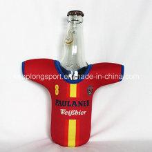 Nouveau porte-bouteille en néoprène personnalisé avec la forme du t-shirt