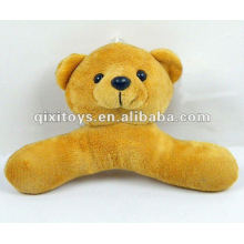 100%lovely stuffed teddy plush toy bear hanger