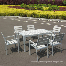Garden patio plastic wood furniture outdoor