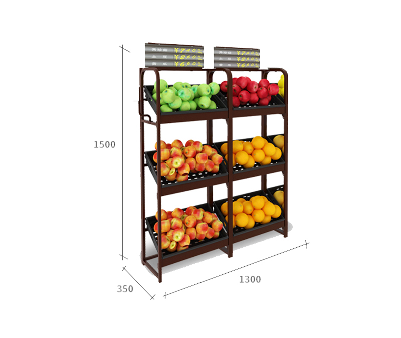 fruit and vegetable diaplay equipment