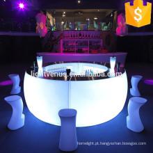 luzes conduzidas do partido para a decoração do bar do hotel de luxo