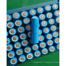 Batterie lithium-ron NCM 3.6V 18650 2200mah