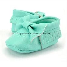 Modelos de la PU: Zapatos interiores del niño del bebé 04