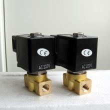 Válvula solenoide micro miniatura de alta presión POG ss316