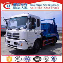 dongfeng kingrun 8cbm capacity of swing arm refuse collector