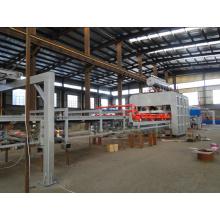 Halbautomatische Kurzzyklus-Laminierung MDF-Möbel Heißpressmaschine