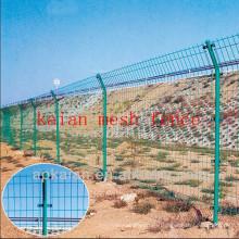 Hebei anping KAIAN verde pvc recubierto de alambre de alambre galvanizado (30 años fabricante)