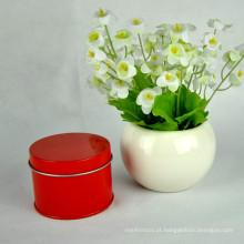 Pratos de chá de Natal redondos com impressão de alta qualidade