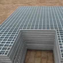 Entwässerungsrinne Galvanisiertes Stahlgitter