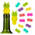 Bouchons de bouteille de vin en silicone ananas drôles