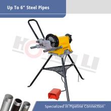Máquina de ranhuramento para tubos de energia elétrica GC02