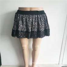 Faldas para mujer con estampado floral de poliéster personalizado de New Arrivel