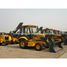 World Famous XCMG Earth Moving Machine 4WD Backhoe Loader