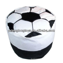 lovely and practical plush Inflatable football stool