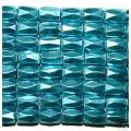 Deep Blue Hematite 18 Faced Tube Beads 5X8MM Grado AB