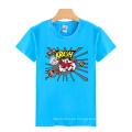 Seis colores personalizados al por mayor moda impresión algodón hombres camiseta