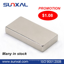 Cheap neodymium strong promotional magnets in stock