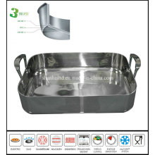 3 Ply Body Rectangle Pan Ovenware Bakeware