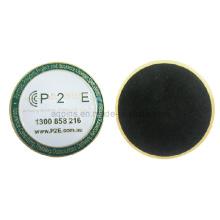 Práctico de costa de encargo de la alta calidad del metal con el esmalte suave (Coaster-23)