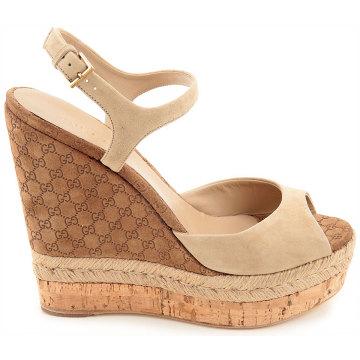 Frauen Sandalen mit Schnalle Frauen Wedegs mit hoher Plattform