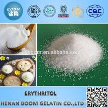100% natural white crystal natural sweetener erythritol