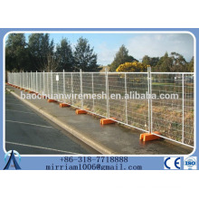 Australia Standard / Hot-dipped galvanized temporary fence / traffic barricade