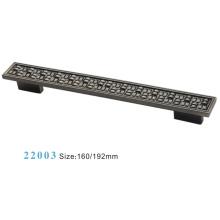 Muebles Accesorios Manija de gabinete de aleación de zinc (22003)