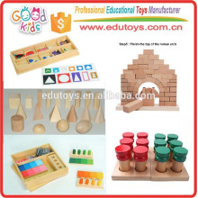 Montessori Sensorial Material Wooden Preschool Educational Kids Toys